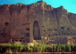 Buddha of Bamiyan, Afghanistan. Destroyed March 2001 by Taiban.